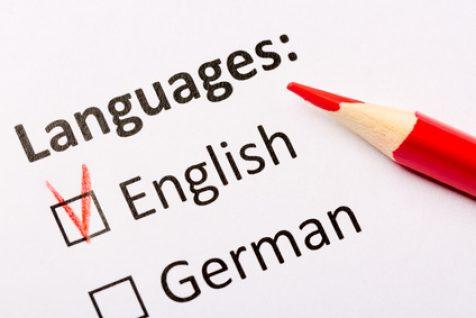 Bewerbung Englisch Übersetzung