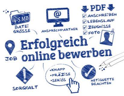 Online Bewerbung Hilfe